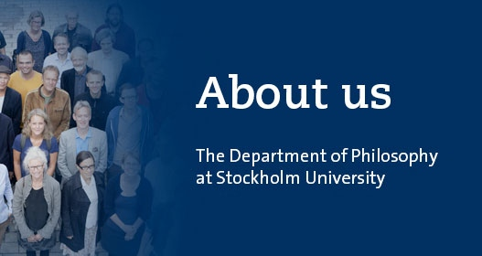 About us - the Department of Philosophy at Stockholm University