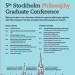 5th Graduate Conference Poster Image