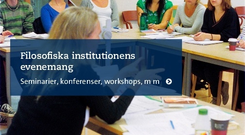 Filosofiska institutionens evenemang