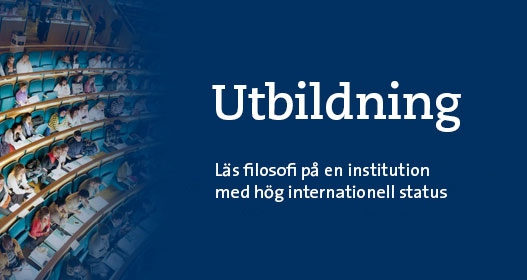 Utbildning - Läs filosofi på en institution med hög internationell status